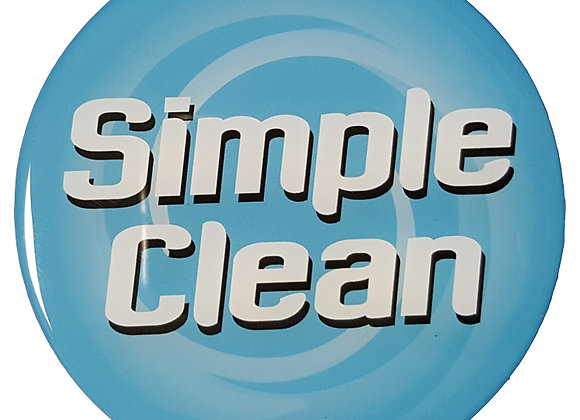 Simple Clean Logo Sticker