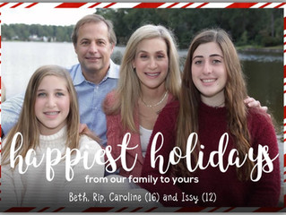 HAPPY HOLIDAYS!  BE WELL!  STAY SAFE!