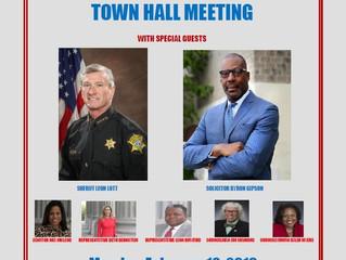 Crime & Safety Town Hall - Decker Blvd Area