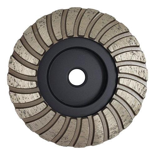 Accordion Double Row Cup Wheel
