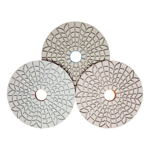 3-Step Wet Polishing Pad for Engineered Stone
