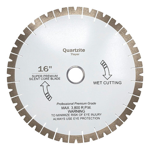 Quartzite Patterned Diamond Blade