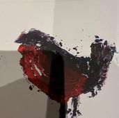 Gareth's printng of a robin