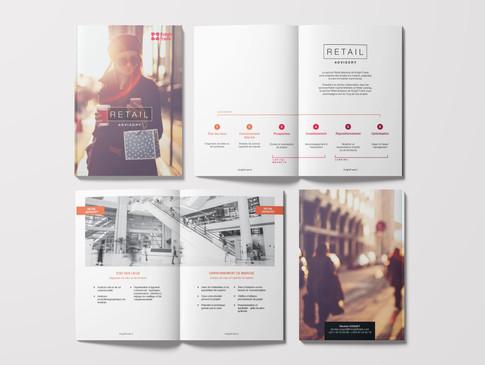 brochure retail