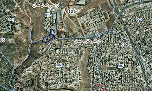 أرض للبيع مساحتها 867 م في عمان منطقة الكرسي على 3 شوارع