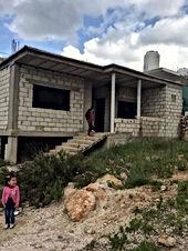 بيت قيد الانشاء في الوهادنه للبيع مساحة البناء 147 متر مربع