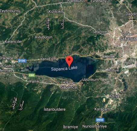 بحيرة سبانجا ذات الطبيعة الخلابة في تركيا