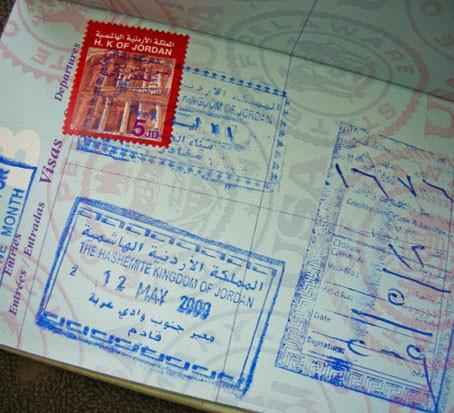 معلومات الحصول على تأشيرة الدخول إلى الأردن