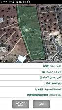 ارض للبيع في في ثغرة عصفور مطله ومرتفعه وقريبه من اوستراد جرش اربد