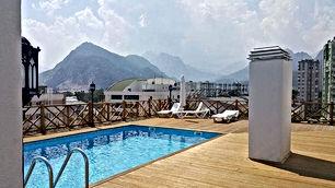 شقة مؤثثةللإيجار الشهري في انطاليا قريبة 400 متر عن البحر .