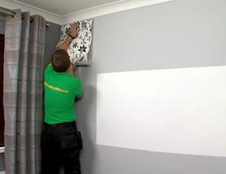 طريقة تركيب ورق الجدران بنفسك وبكل سهولة
