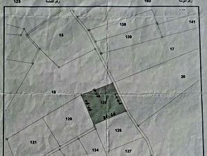 قطعة أرض مساحتها ستّة دونمات و 629م(6،629 دونم)