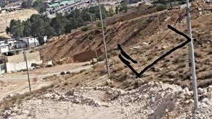 أرض 330 متر في شومر حي الجنينة قرب الجسر الجديد للبيع