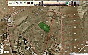 قطعه ارض بالطفيله - العيص مساحتها 4832 متر سعر المتر 15 دينار قابل للتفاوض