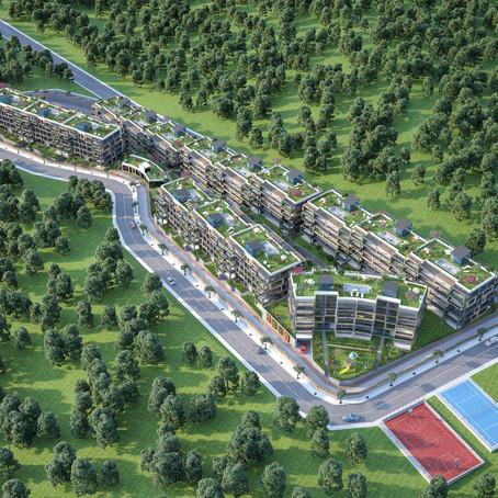 مشروع وادي النخيل – شقق فاخرة في كوجالي ملاصقة لاسطنبول