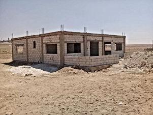 منزل مستقل للبيع بحاجه الى تشطيب مساحه البناء 147متر