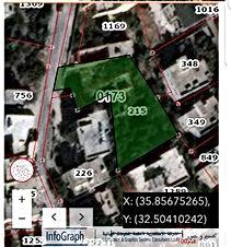 ارض 1087متر مربع للبيع - اربد/ايدون