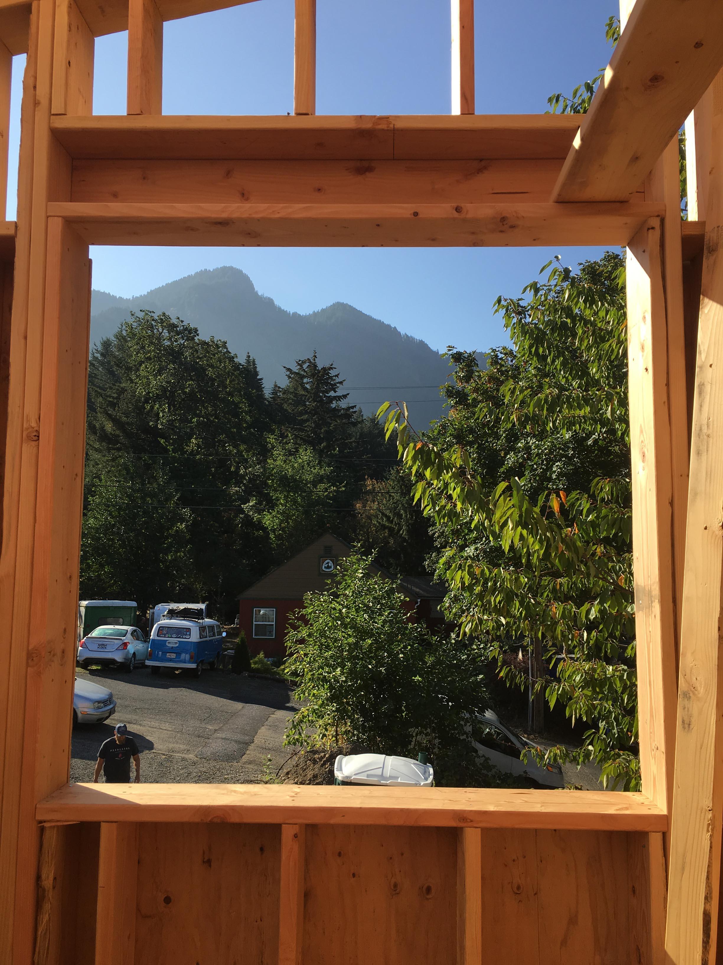 Gorge House - Construction