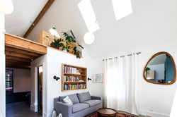 Mason St ADU - Living Room