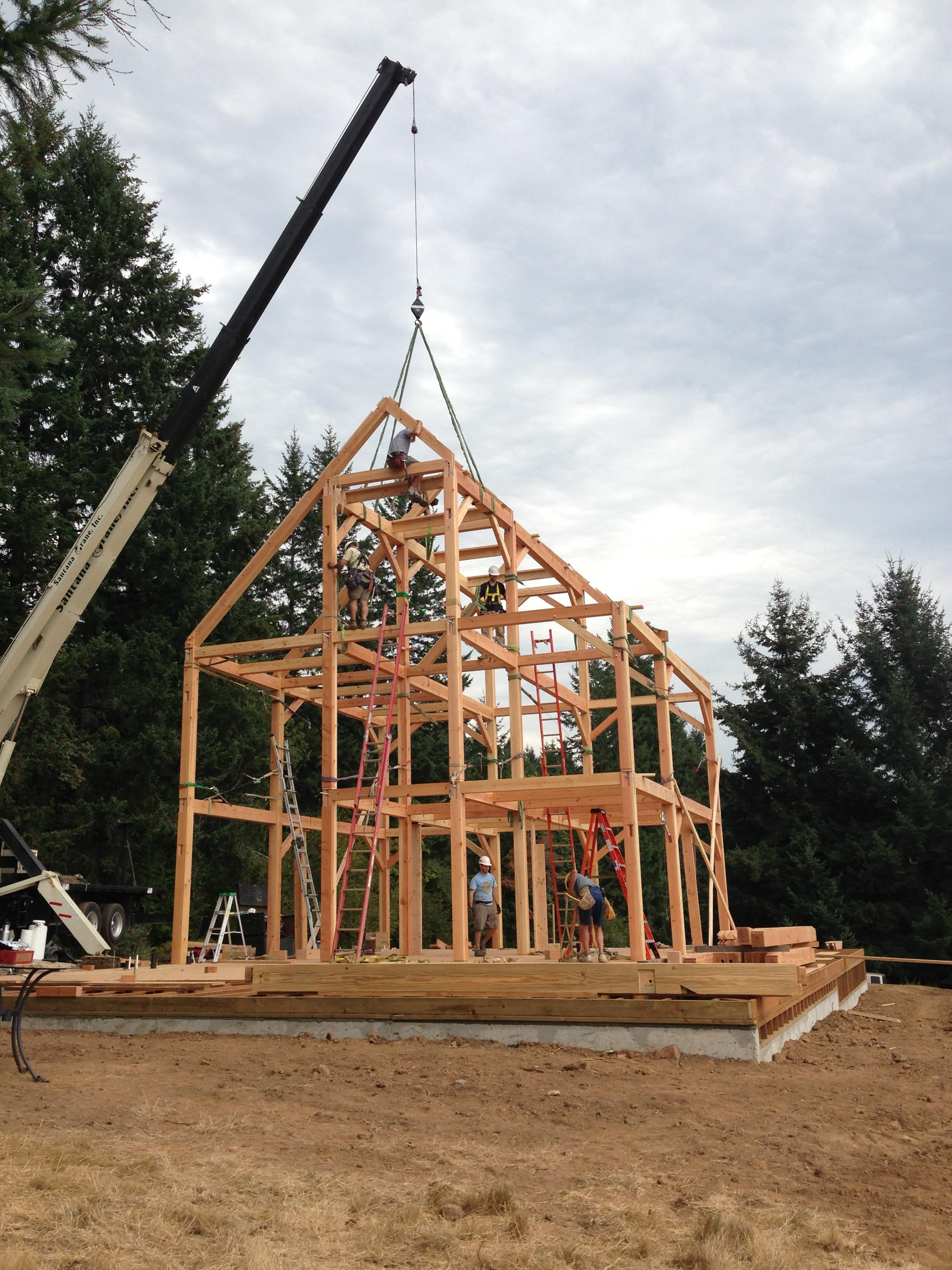 North Plains - Timber Frame