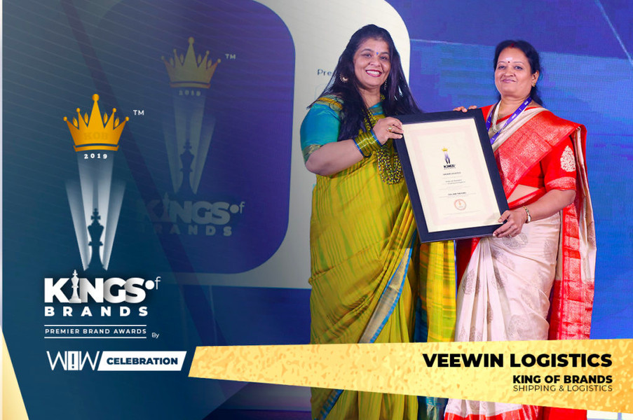 King of Brands Award in Shipping & Logistics.