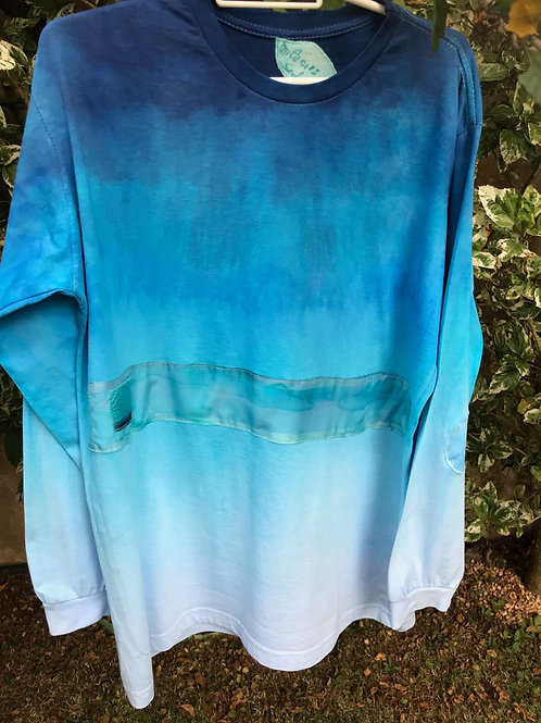 "Camiseta masculina ""Deep blue 1"""