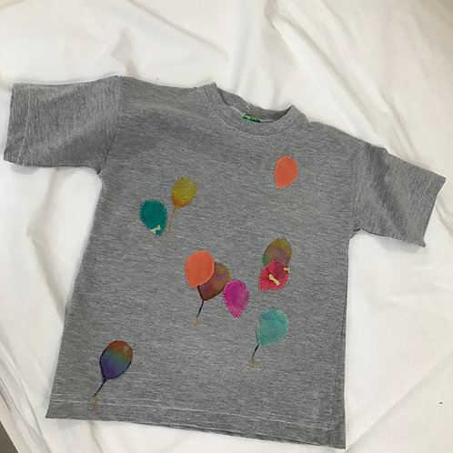 "Camiseta infantil ""Balões"""