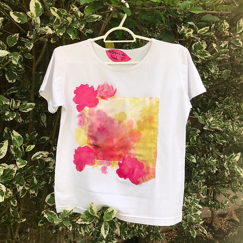 "Camiseta feminina ""Jardim das maravilhas"""