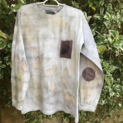 """Camiseta masculina """"Floresta cinza"""""""