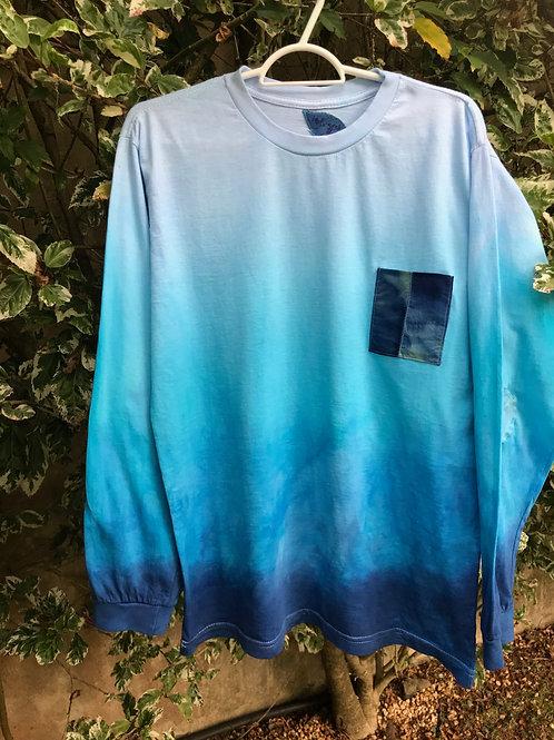 "Camiseta masculina ""Deep blue 2"""
