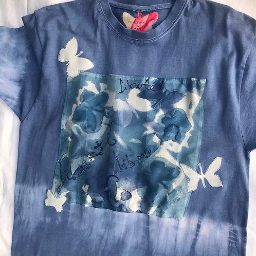 """Camiseta feminina """"Liberté"""""""