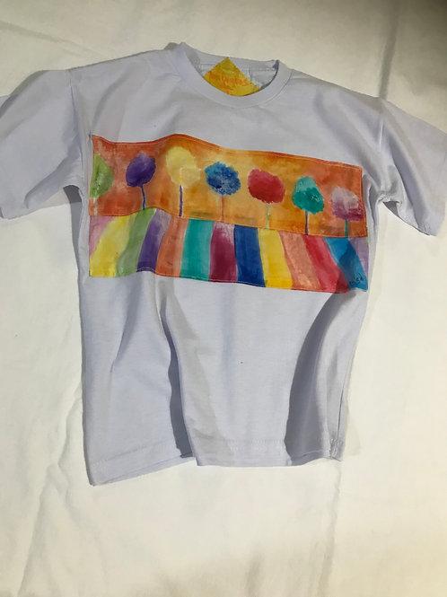 """Camiseta infantil """"Árvores"""""""