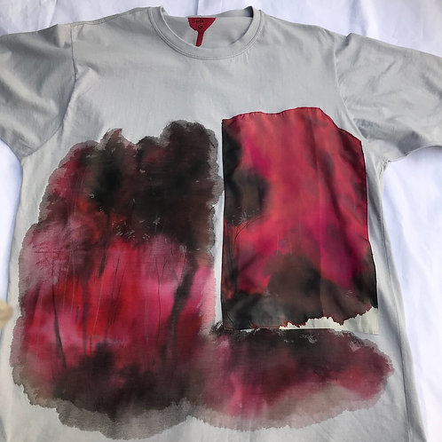 """Camiseta feminina """"Paisagens divergentes 2"""""""