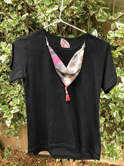 """Camiseta feminina """"Pequim Noir"""""""