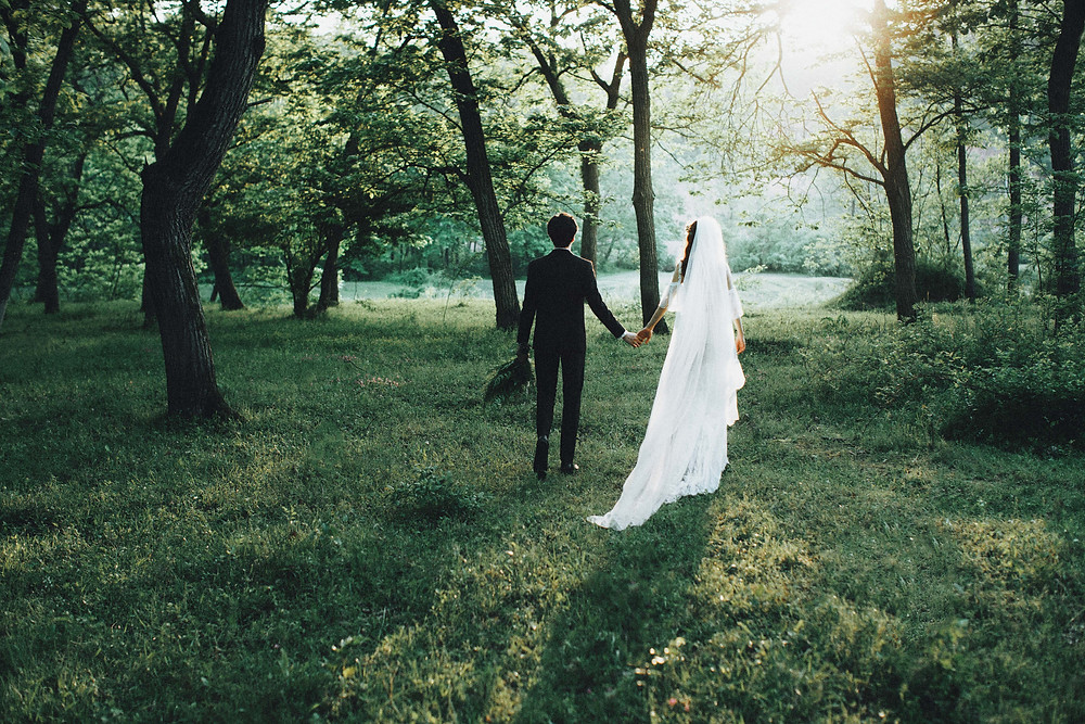 Photographie de mariage à Versailles
