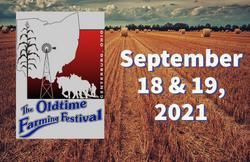 banner oldtime farming festival