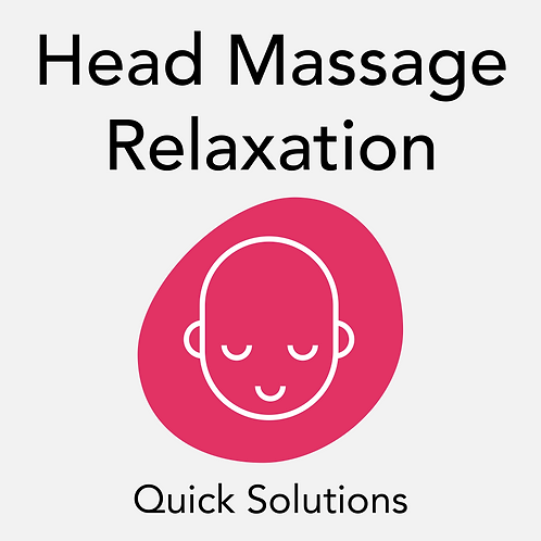 Head Massage Relaxation