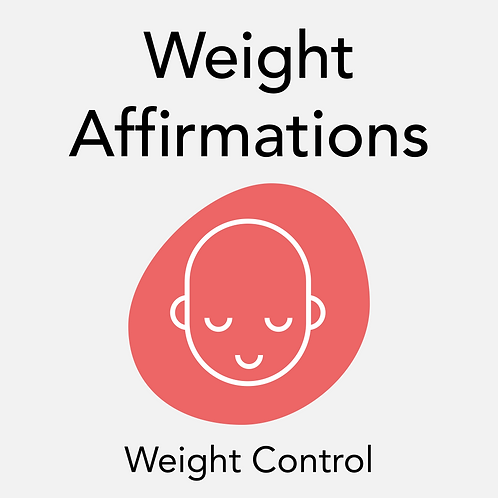 Weight Affirmations Instructions