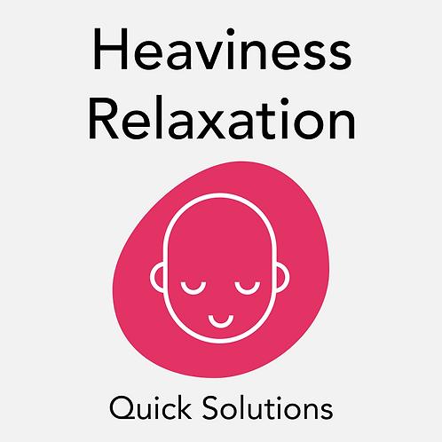 Heaviness Relaxation