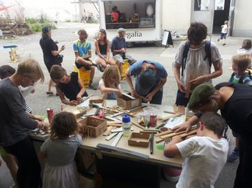 Cycloton 2019: Atelier instruments