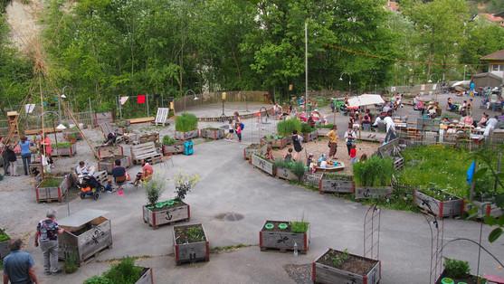 Des jardins communautaires