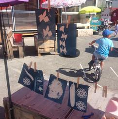 Atelier Cyanotype avec Chiara Bertin