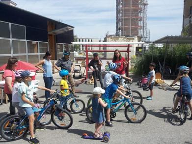 Sensibilisation routière avec Pro Vélo