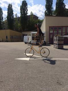 Bolide créé par le VéloSalon