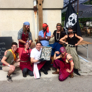 Equipe du brunch des Pirates