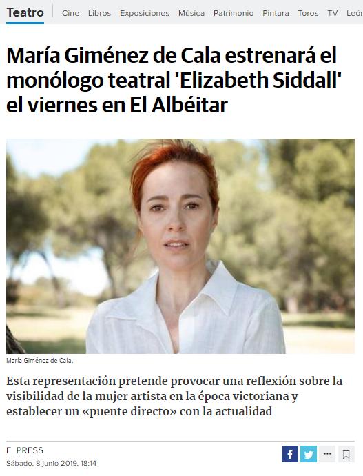 20190608 leon noticias elizabeth siddall