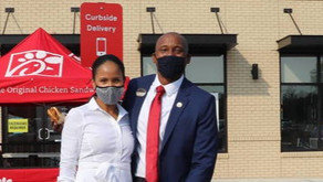 Howard Alum, William Bridges, opens Chic-Fil-A franchise in South Plainfield during COVID-19 pandemi
