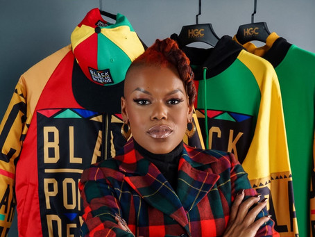 Marcia Smith founded HGC Apparel in 2011 with one goal in mind; to celebrate black culture and desig