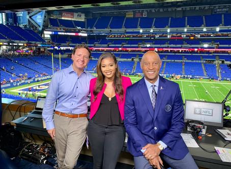 2 Time Emmy Winner AJ Ross of CBS Sports talks Howard, Delta, Sports, Big Break, and Future...