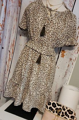 THML Cheetah Print Dress